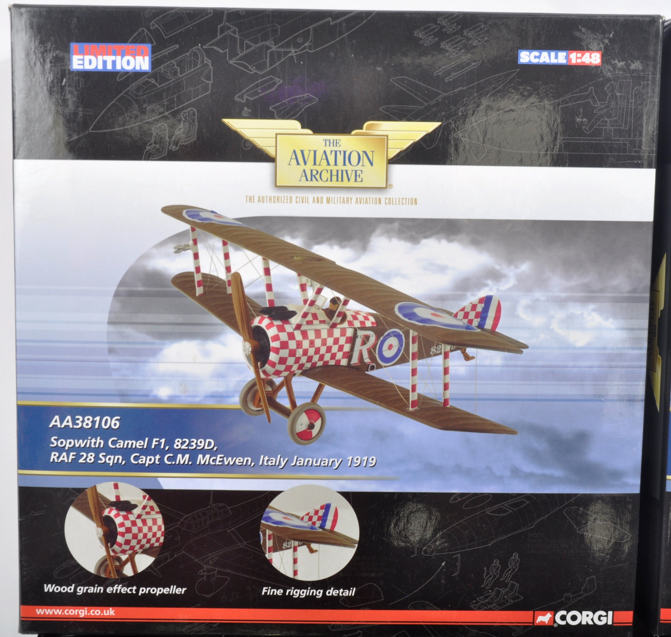 CORGI AVIATION ARCHIVE - TWO BOXED DIECAST MODELS - Image 5 of 6