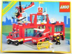 LEGO SET - LEGO LAND - 6389 - FIRE CONTROL CENTRE