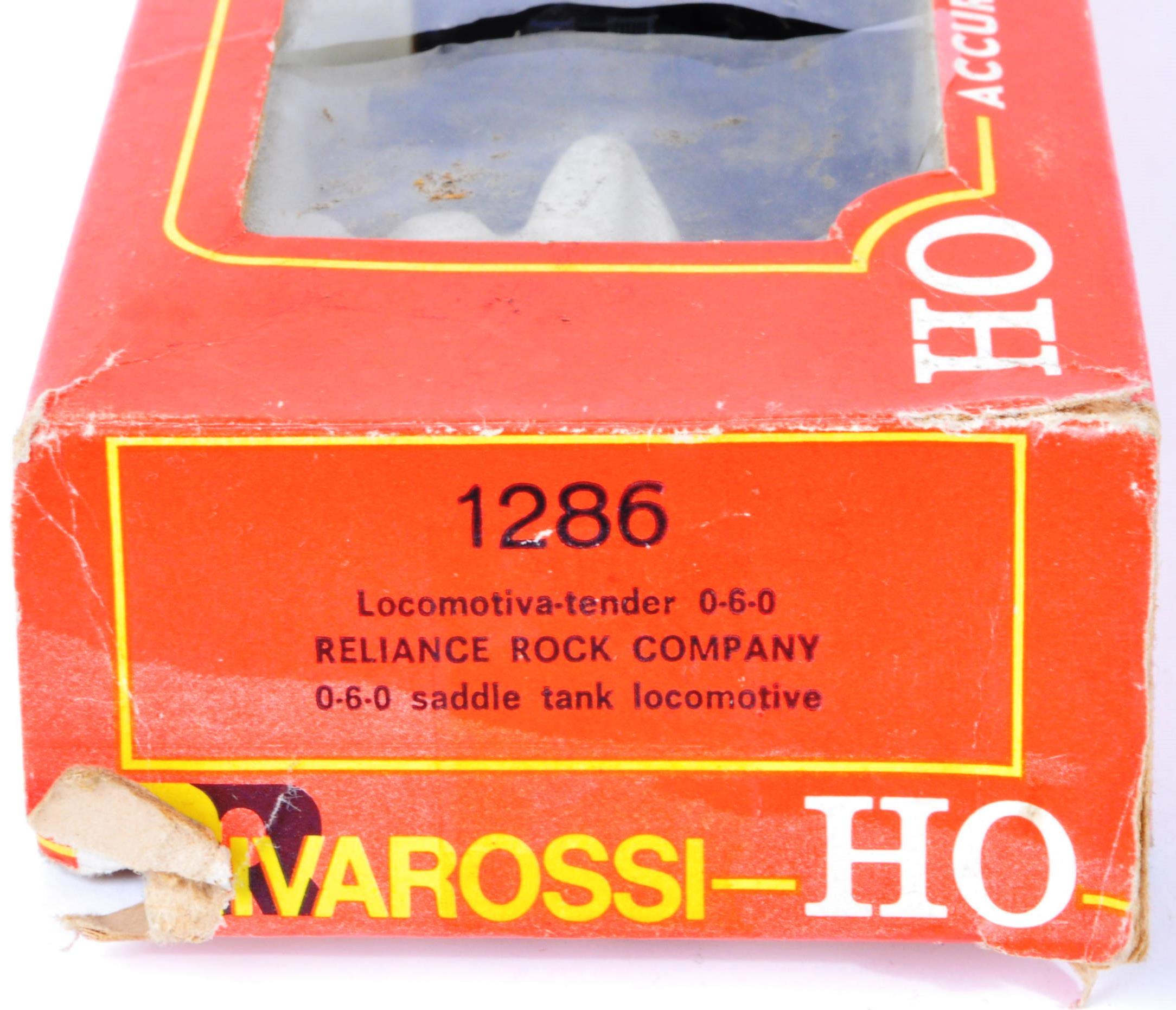 TWO RIVAROSSI HO / OO GAUGE MODEL RAILWAY LOCOMOTIVE ENGINES - Image 3 of 5