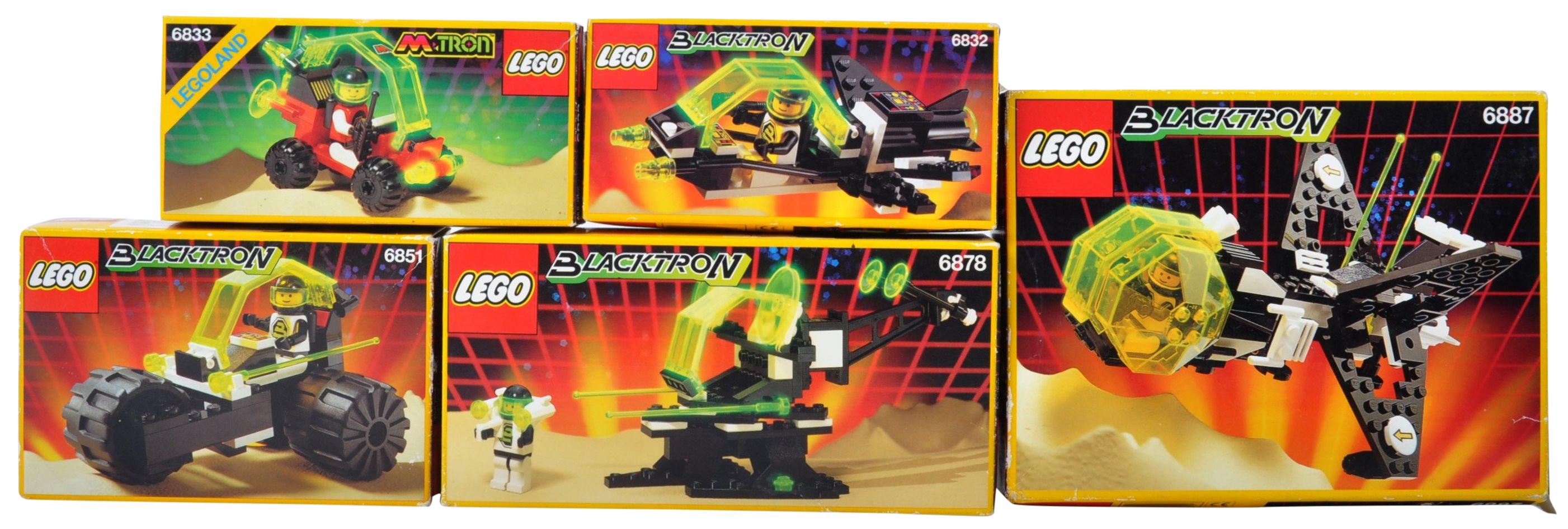 LEGO SETS - BLACKTRON - 6832 / 6833 / 6851 / 6878 / 6887