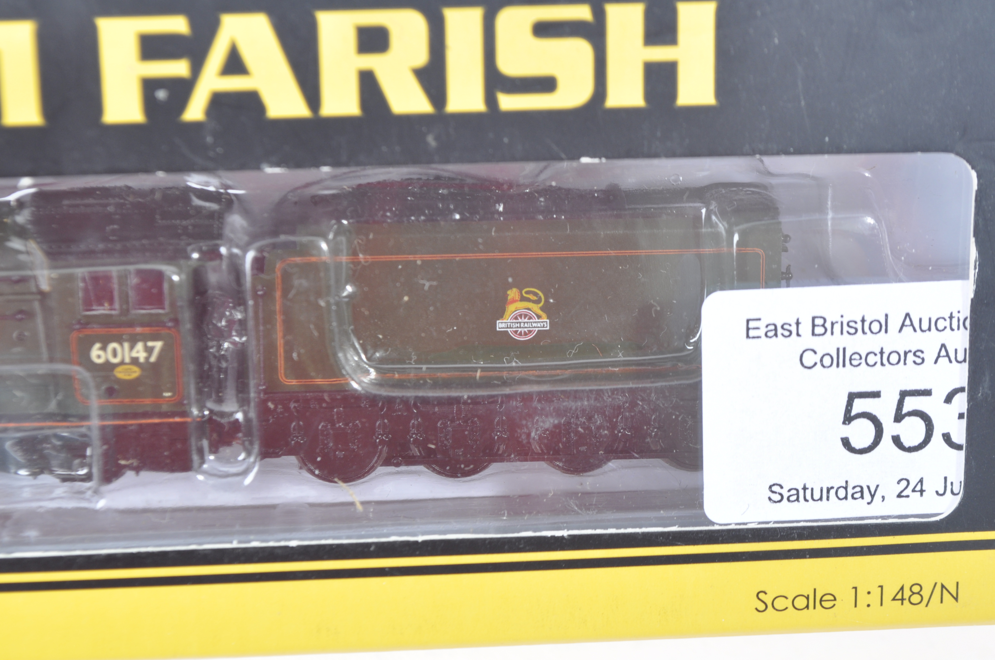 ORIGINAL GRAHAM FARISH N GAUGE MODEL RAILWAY LOCOMOTIVE - Image 3 of 4