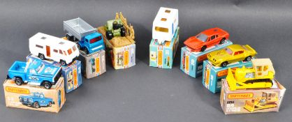 COLLECTION OF VINTAGE MATCHBOX 1-75 SERIES BOXED DIECAST MODELS