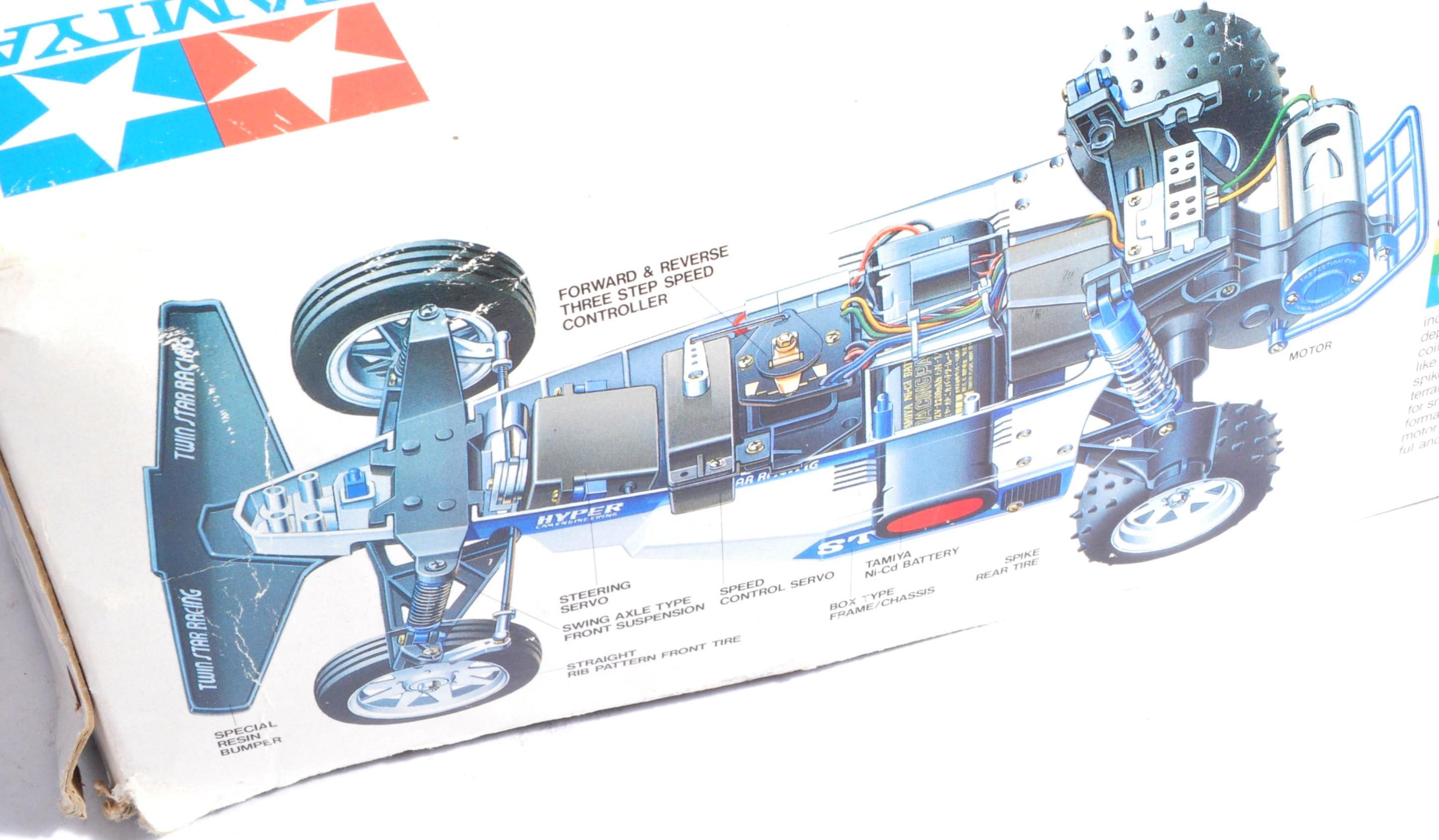 TAMIYA - SCARCE VINTAGE 1/10TH SCALE ' STRIKER ' RC CAR - Image 4 of 6
