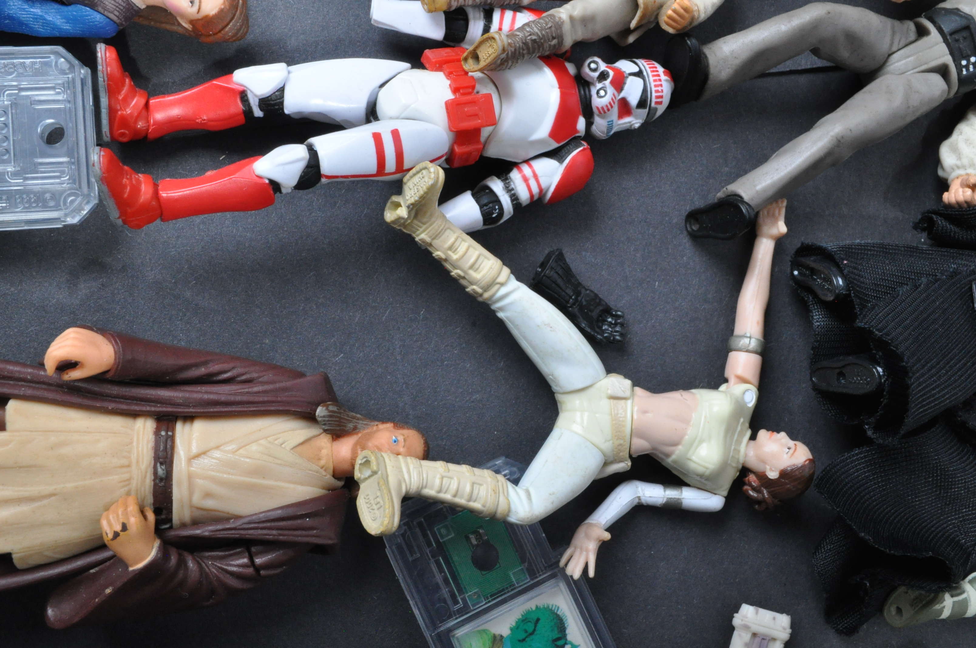STAR WARS - LARGE COLLECTION KENNER / HASBRO CLONE WARS & OTHER FIGURES - Image 9 of 10