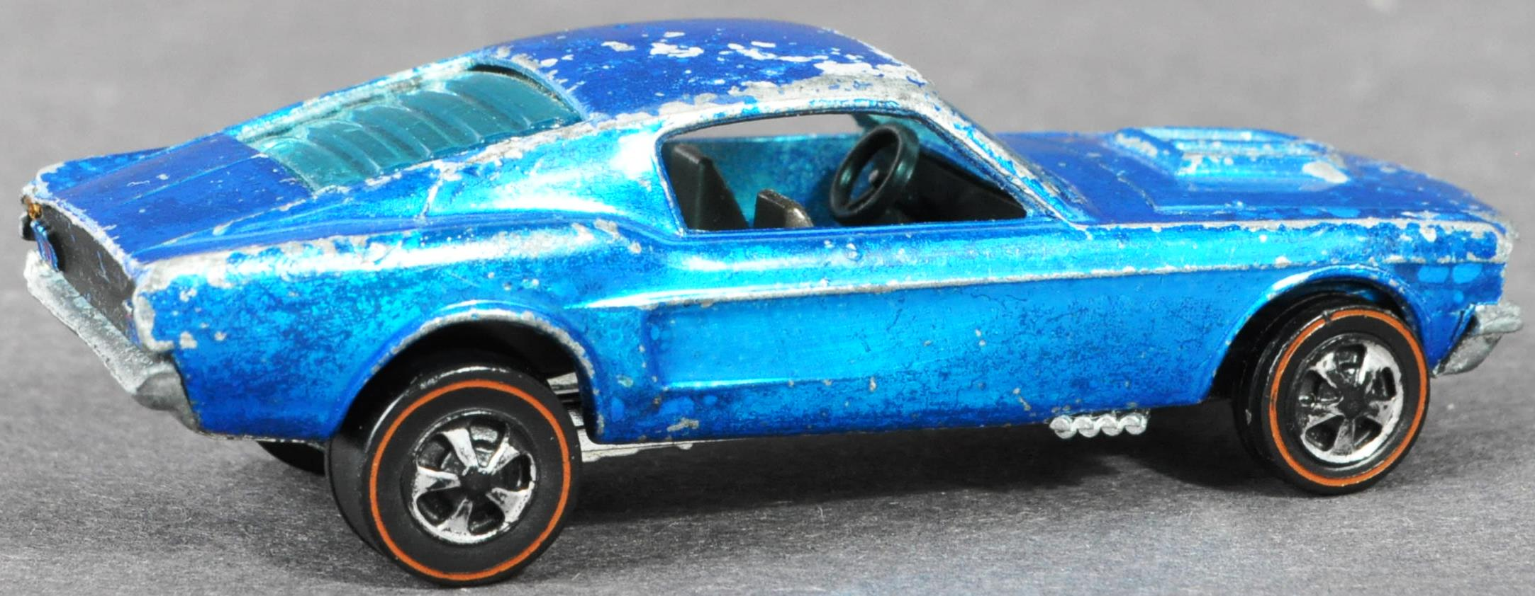 RARE HOT WHEELS CUSTOM MUSTANG WITH LOUVERED WINDOW - Image 3 of 5