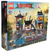 LEGO SET - LEGO NINJAGO MOVIE - 70657 - NINJAGO CITY DOCKS