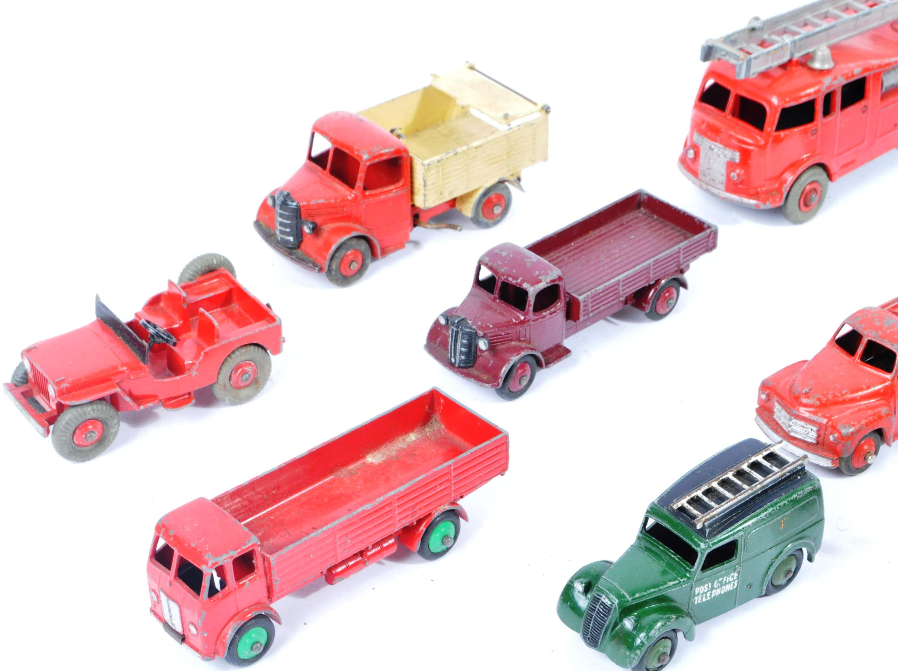 COLLECTION OF X10 VINTAGE DINKY TOYS DIECAST MODEL TRUCKS - Image 2 of 14
