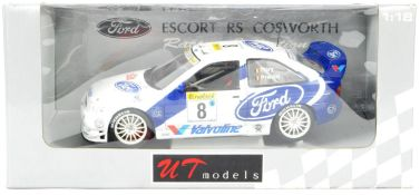 UT MODELS 1/18 SCALE PRECISION DIECAST FORD ESCORT RALLY CAR