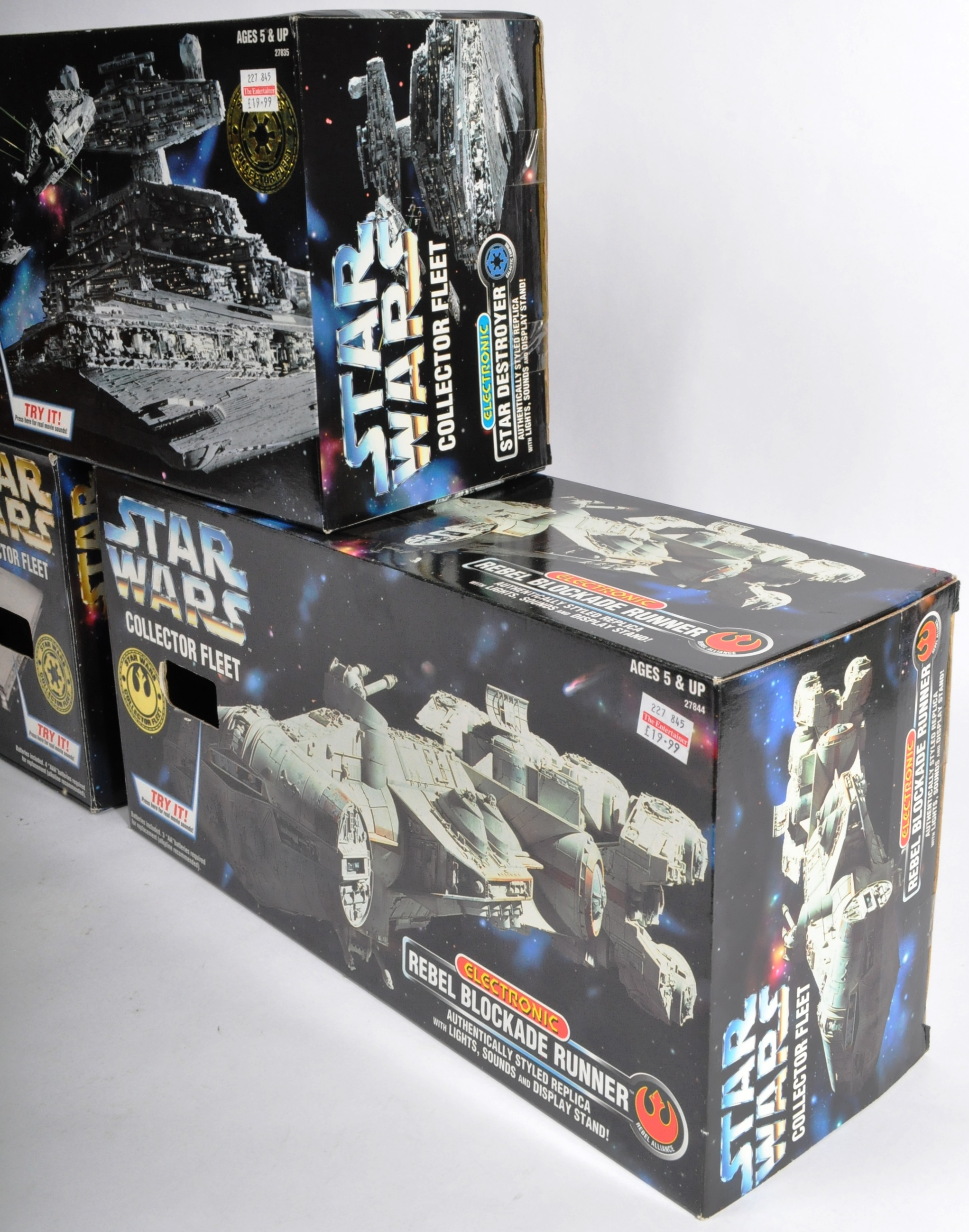 STAR WARS - COLLECTION OF KENNER ' COLLECTOR FLEET ' PLAYSETS - Image 2 of 5