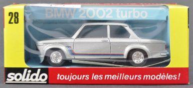 ORIGINAL VINTAGE BOXED SOLIDO DIECAST MODEL CAR