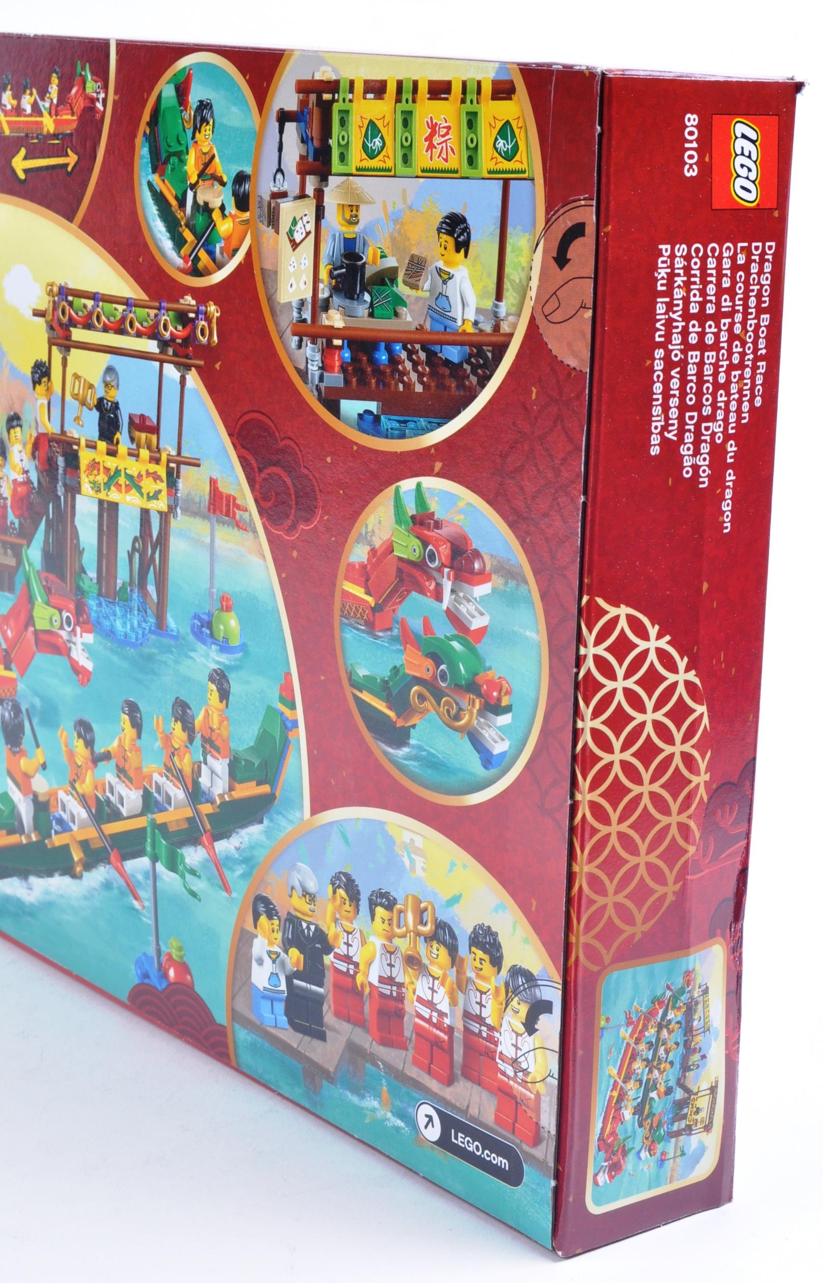 LEGO SET - 80103 - DRAGON BOAT RACE - Image 4 of 4