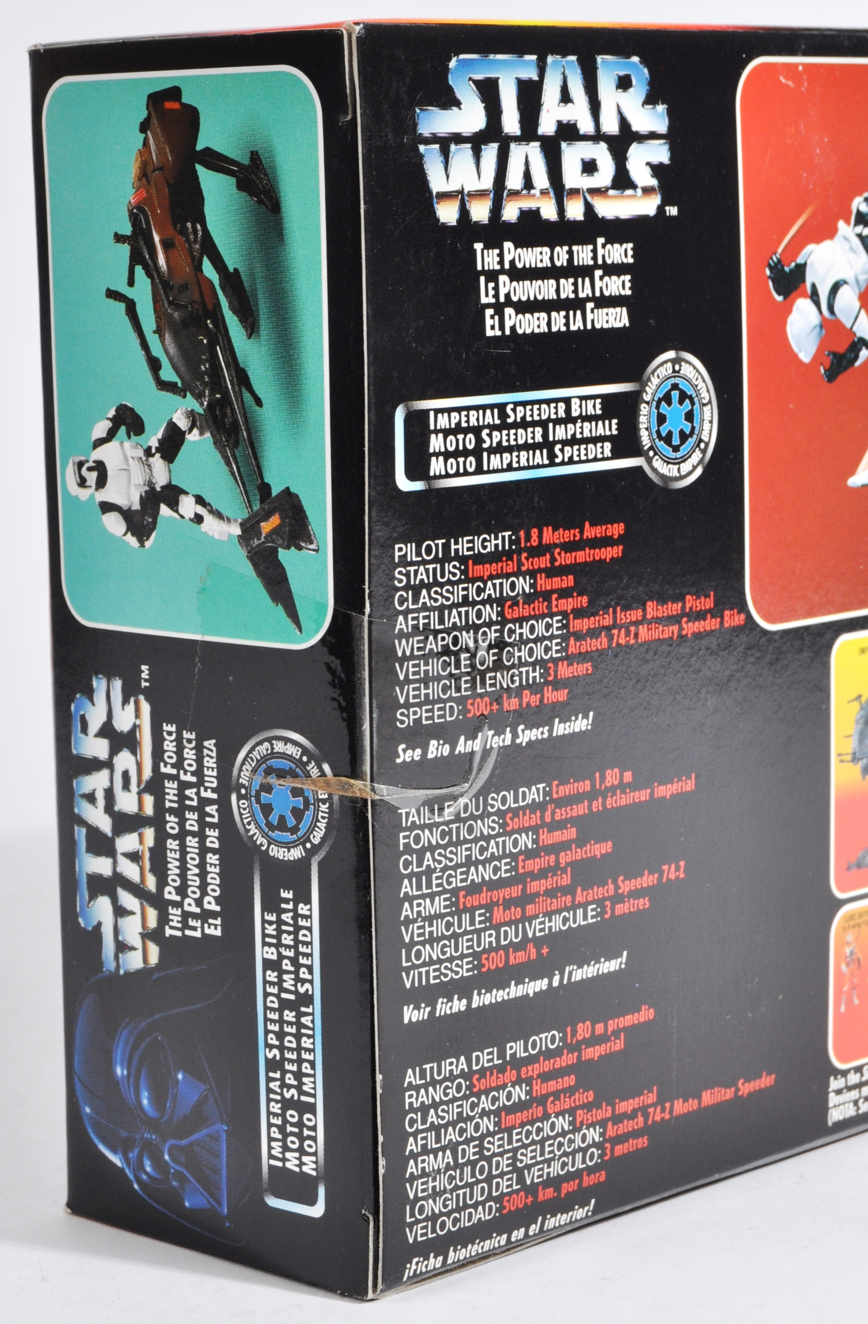STAR WARS - COLLECTION OF KENNER POWER OF THE FORCES - Image 13 of 13