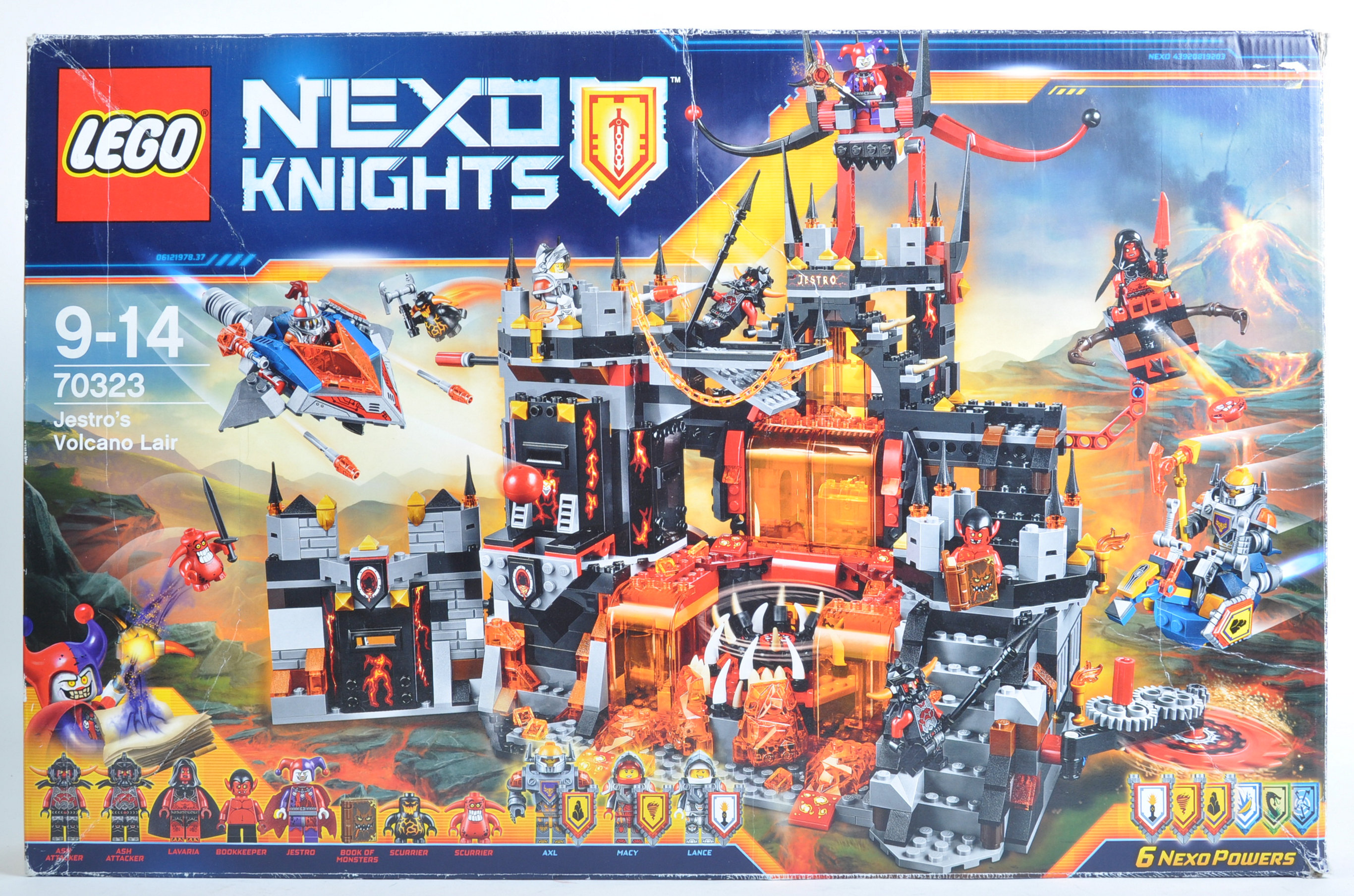LEGO SET - NEXO KNIGHTS - 70323 JESTRO'S VOLCANO LAIR