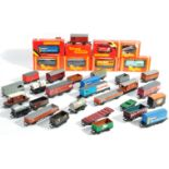 COLLECTION OF ASSORTED HORNBY 00 GAUGE ROLLING STOCK WAGONS