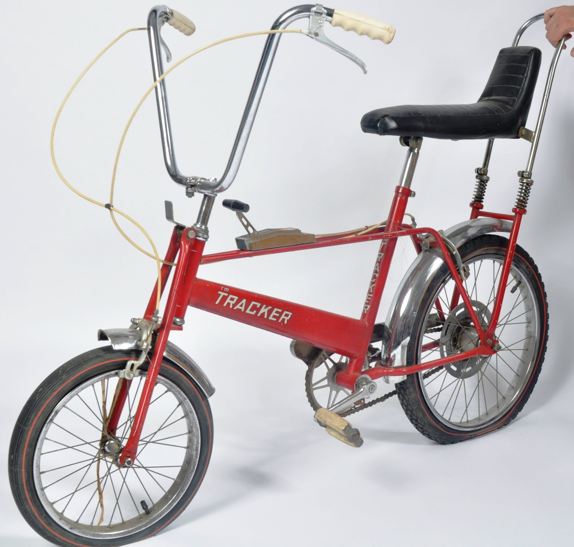 DIANA PRINCESS OF WALES - HER CHILDHOOD TRACKER BICYCLE - Image 3 of 11