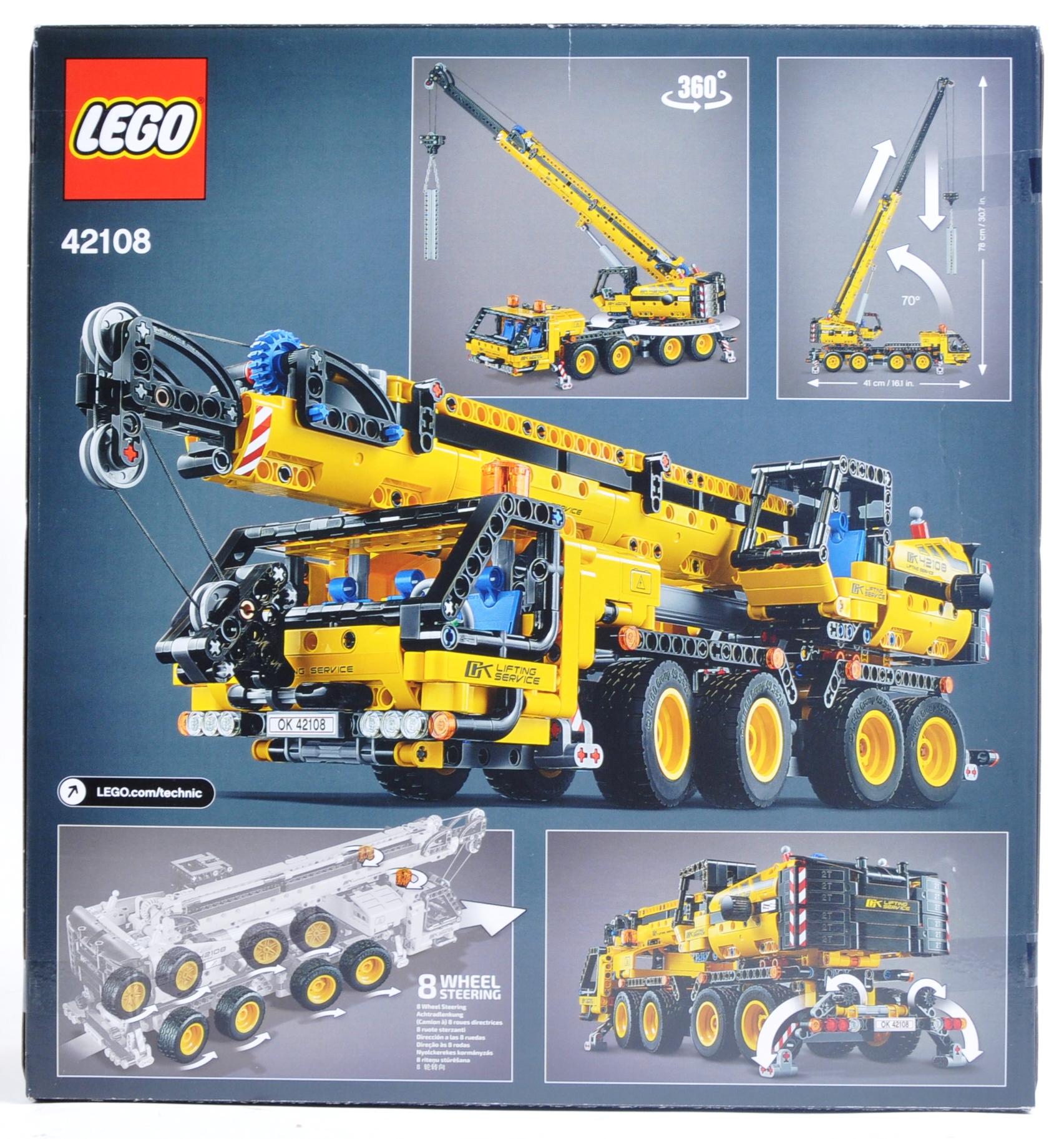 LEGO SET - LEGO TECHNIC - 42108 - MOBILE CRANE - Image 2 of 4
