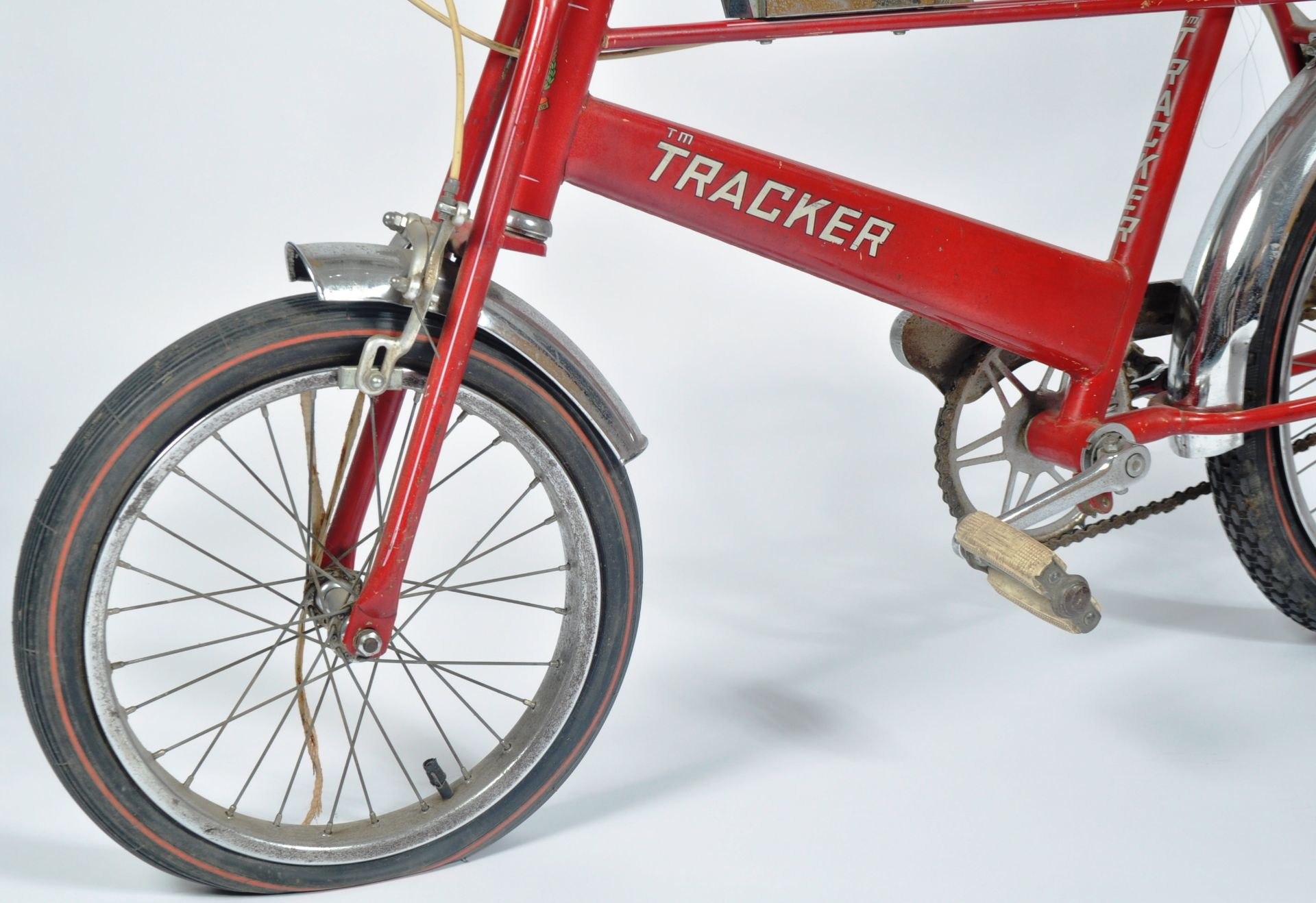 DIANA PRINCESS OF WALES - HER CHILDHOOD TRACKER BICYCLE - Image 5 of 11