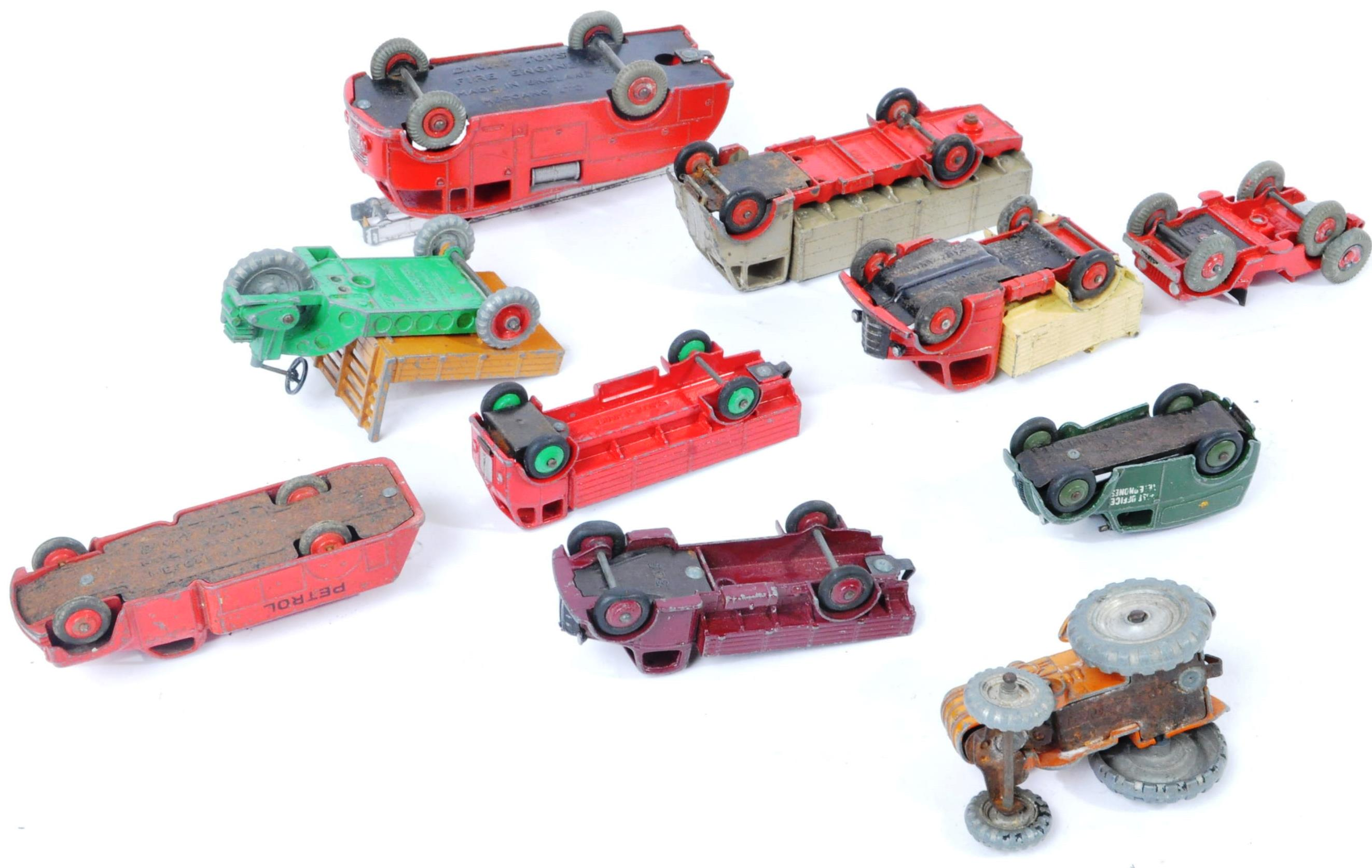 COLLECTION OF X10 VINTAGE DINKY TOYS DIECAST MODEL TRUCKS - Image 14 of 14
