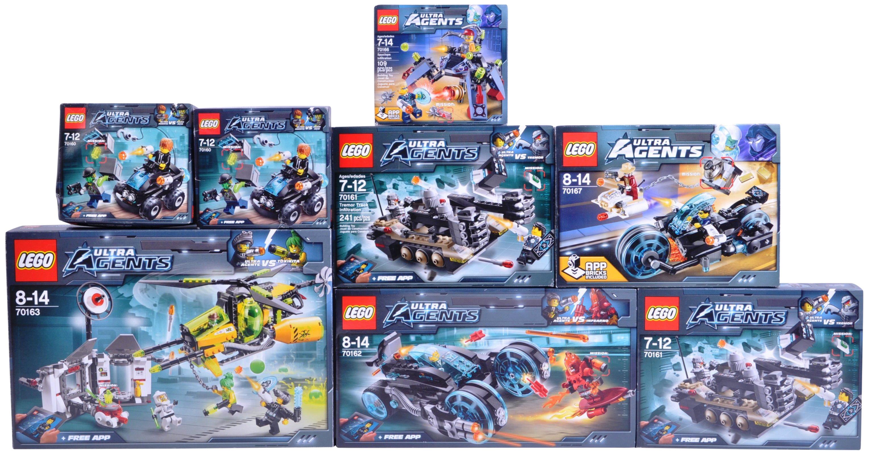 LEGO SETS - LEGO ULTRA AGENTS