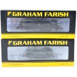 TWO ORIGNAL GRAHAM FARISH N GAUGE MODEL RAILWAY LOCOMOTIVES