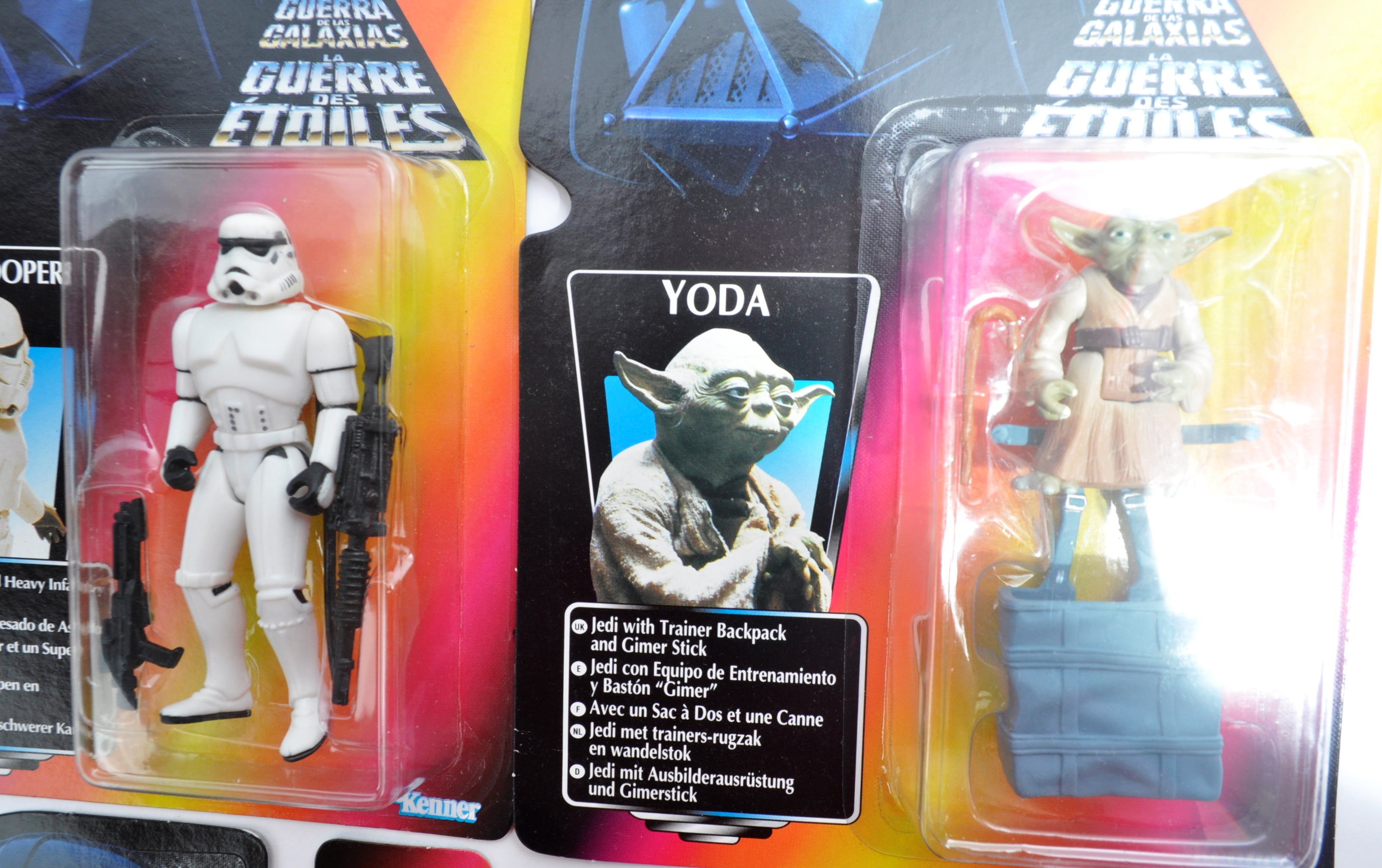 STAR WARS - COLLECTION OF KENNER CARDED ACTION FIGURES - Image 5 of 6