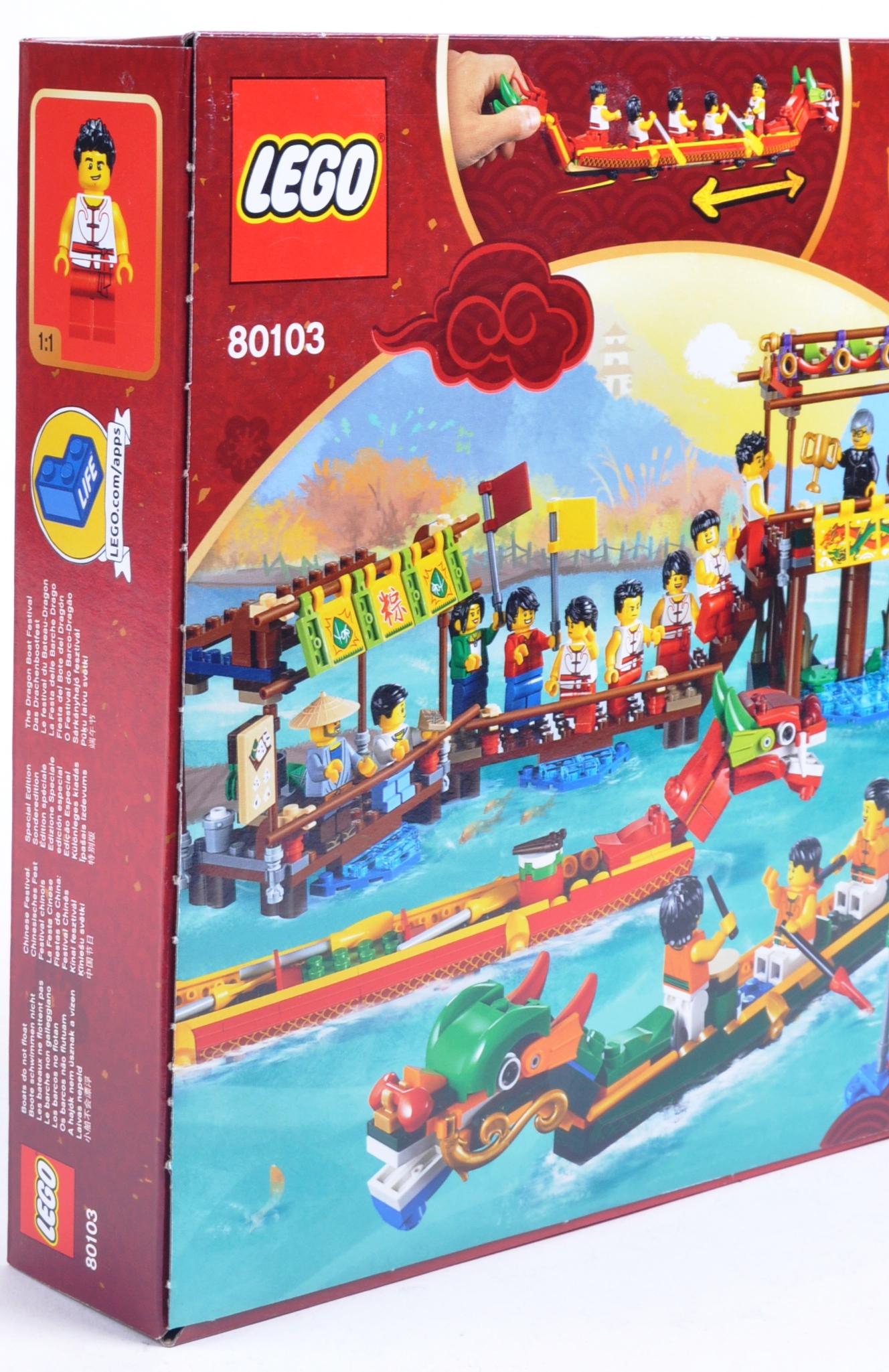 LEGO SET - 80103 - DRAGON BOAT RACE - Image 3 of 4