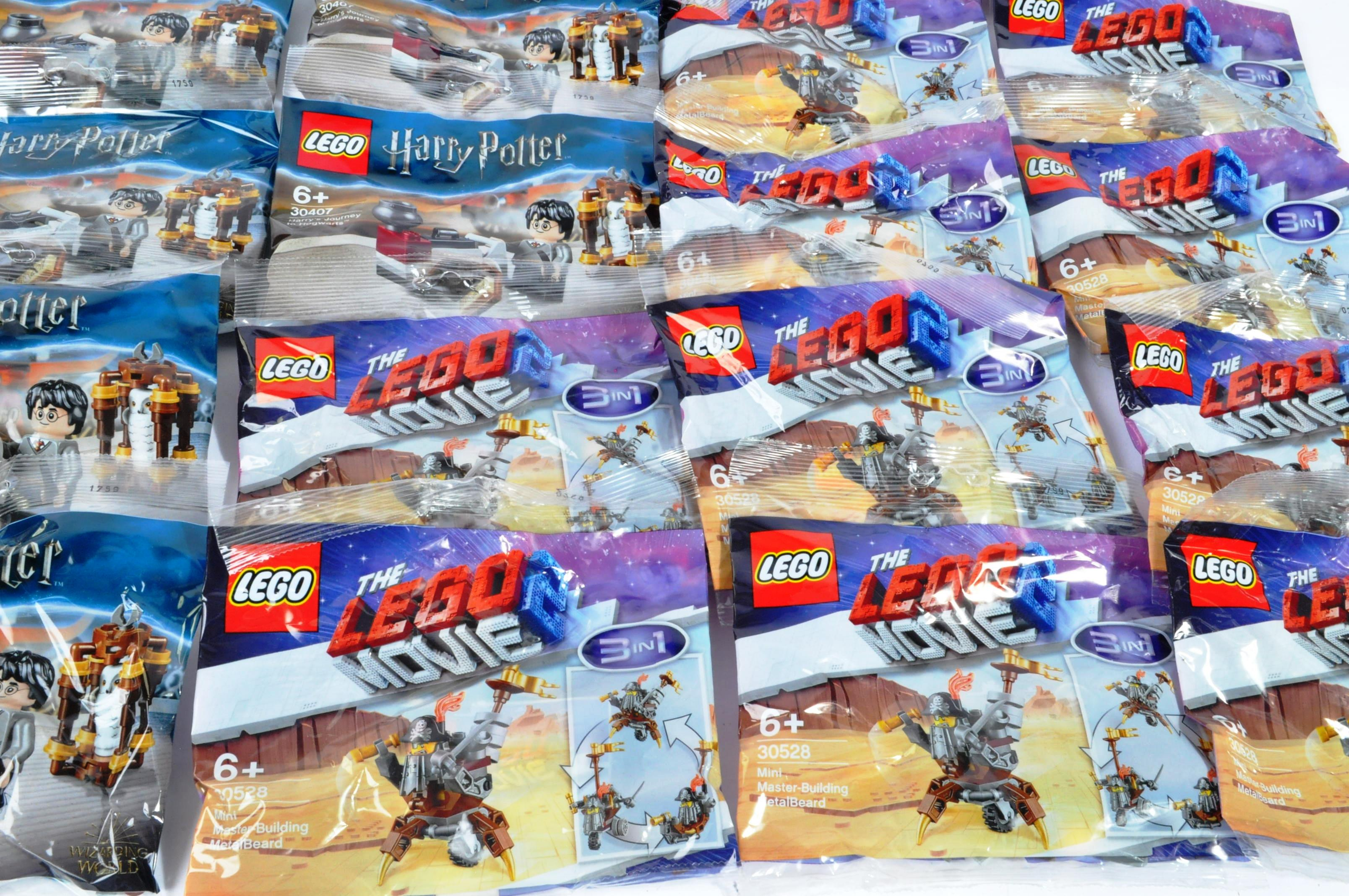 LEGO - LARGE COLLECTION OF LEGO MOVIE, CITY & HARRY POTTER SETS - Image 4 of 5