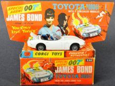 CORGI JAMES BOND 007 DIECAST MODEL 336 TOYOTA 2000GT