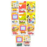 COLLECTION OF VINTAGE CARDED MATCHBOX DIECAST MODELS