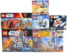 LEGO SETS - LEGO STAR WARS - 75081 / 75099 / 75126 / 75130 / 75137 / 75263