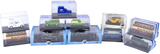 OLLECTION OF ASSORTED OXFORD ROADSHOW DIECAST MODELS