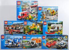 LEGO SETS - LEGO CITY - 60023 / 60084 / 60158 / 7936 / 60118 / 60057 / 7990 / 60007