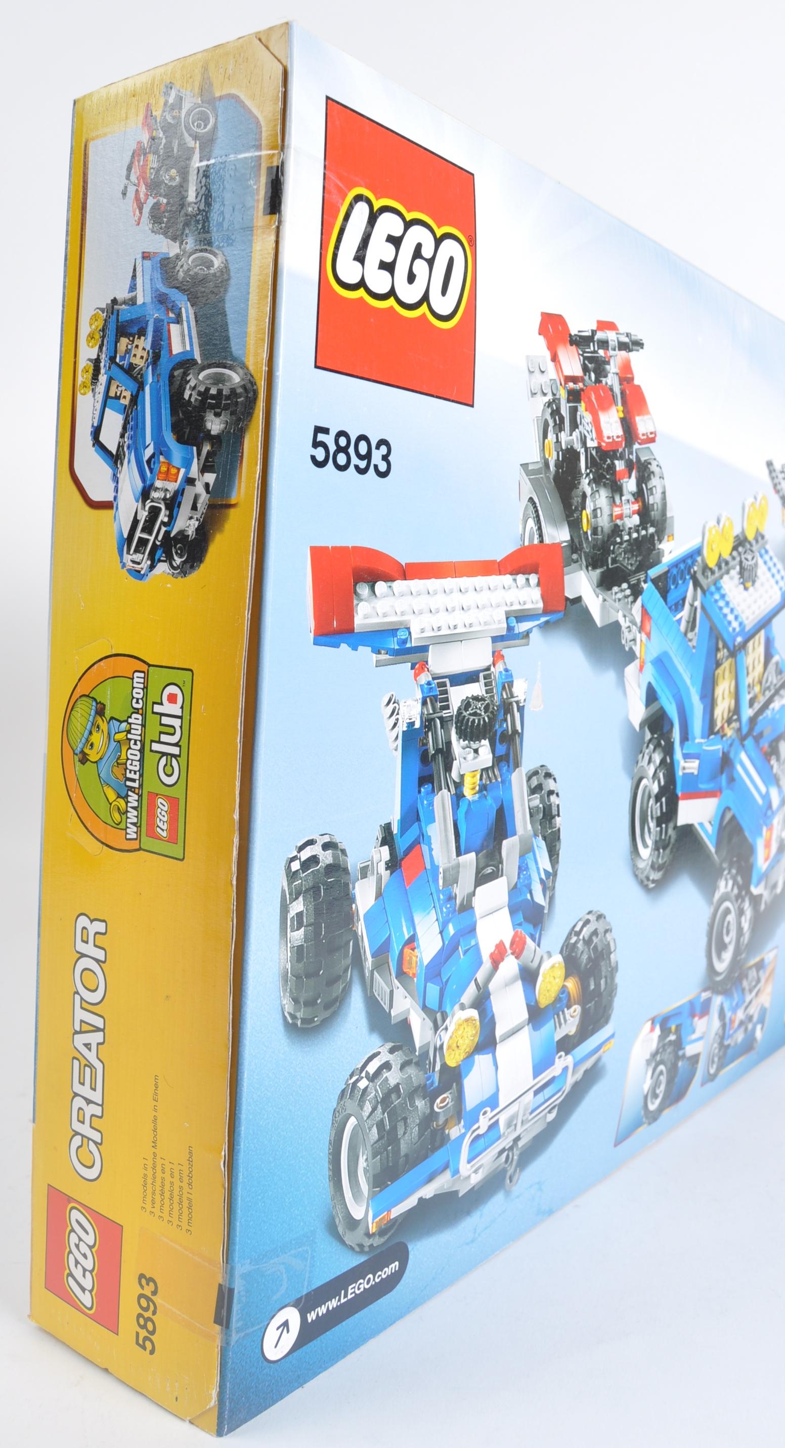 LEGO SET - LEGO CREATOR - 5893 - OFF ROAD POWER - Image 4 of 4