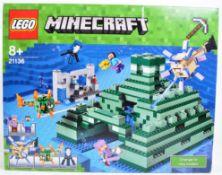 LEGO SET - LEGO MINECRAFT - 21136 - THE OCEAN MONUMENT