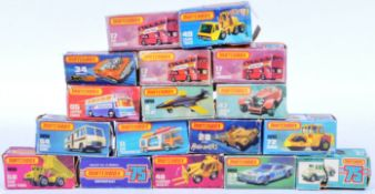 LARGE COLLECTION OF LESNEY MATCHBOX DIECAST MODELS