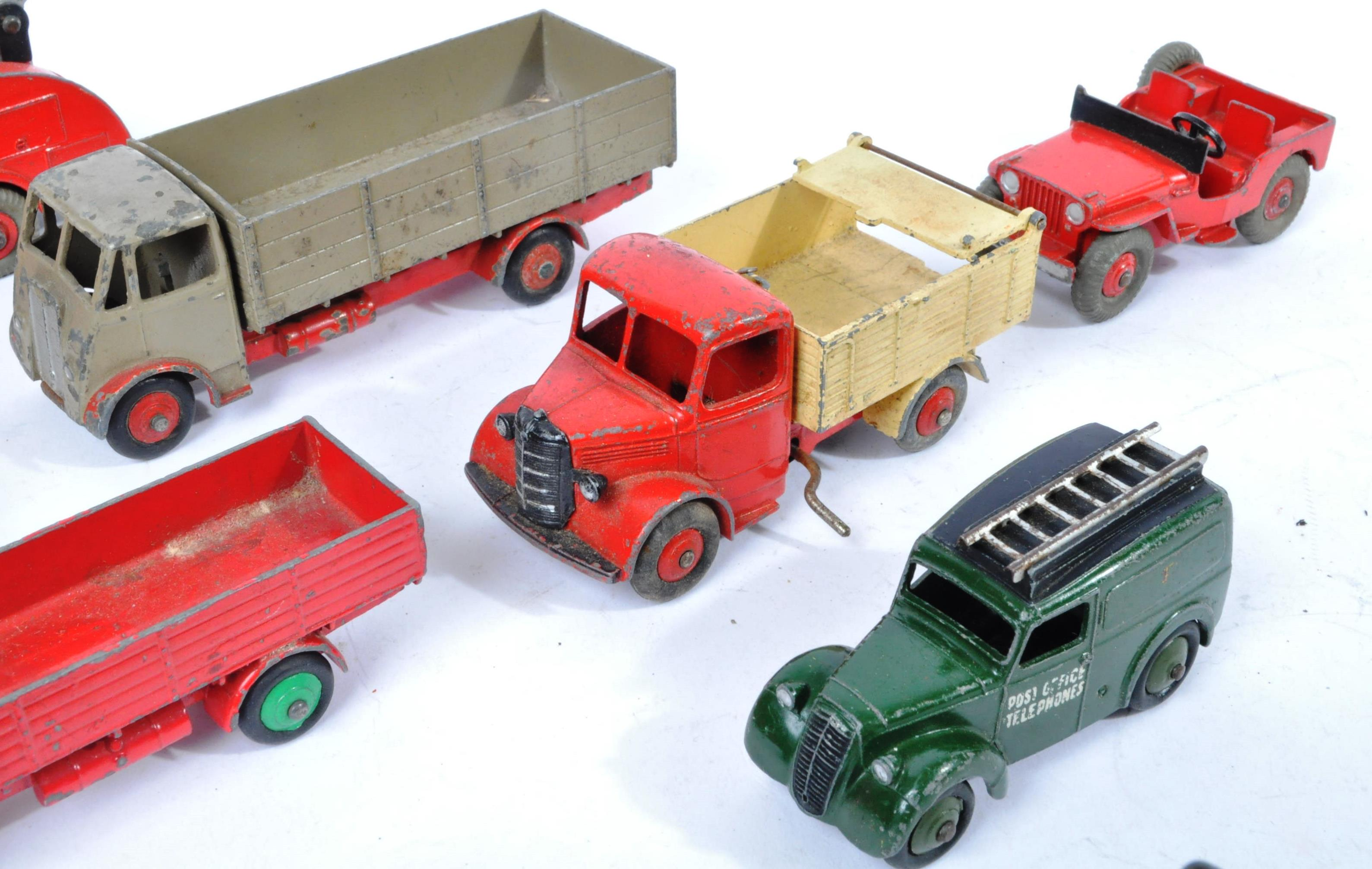 COLLECTION OF X10 VINTAGE DINKY TOYS DIECAST MODEL TRUCKS - Image 12 of 14