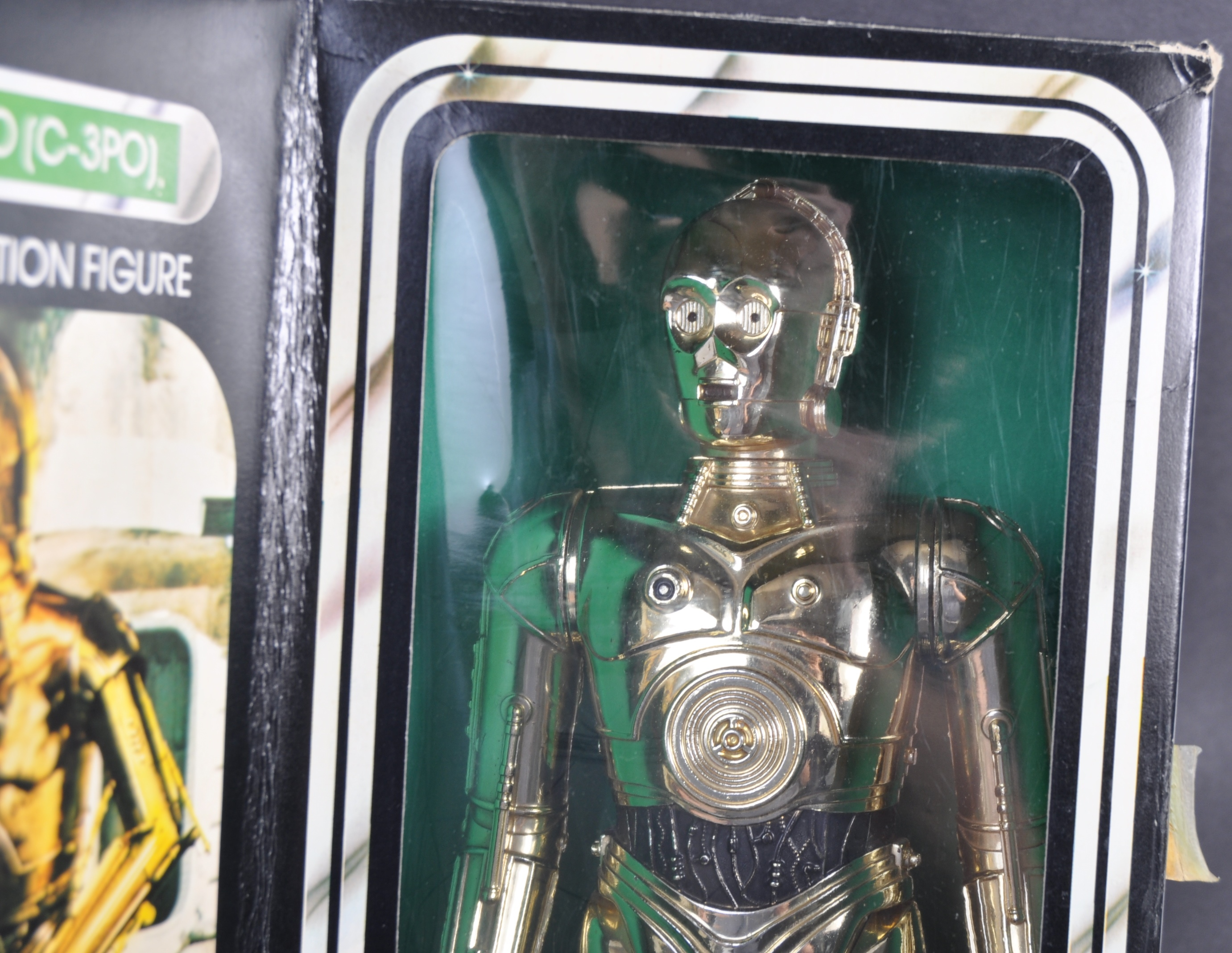 """STAR WARS - RARE DENYS FISHER 12"""" C3PO BOXED ACTION FIGURE - Image 6 of 6"""