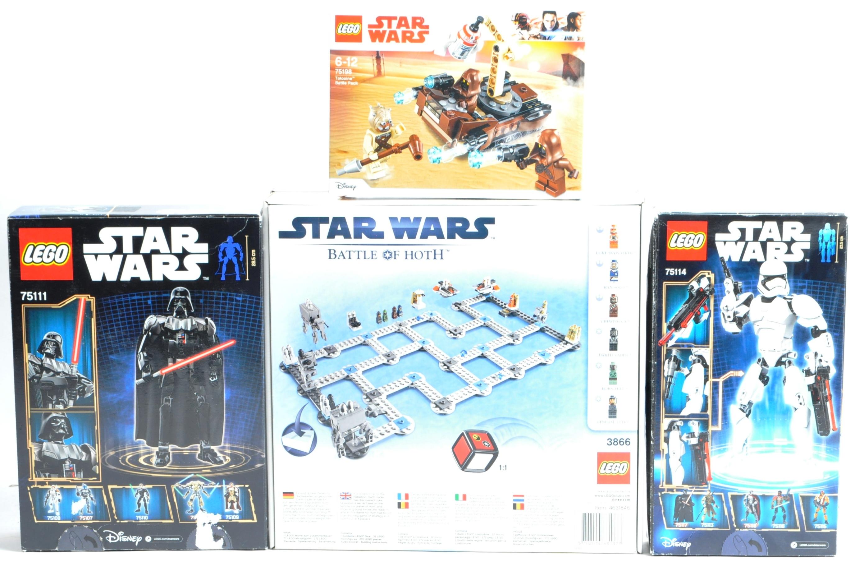 LEGO SETS - LEGO STAR WARS - 3866 / 75111 / 75114 / 75198 - Image 6 of 8