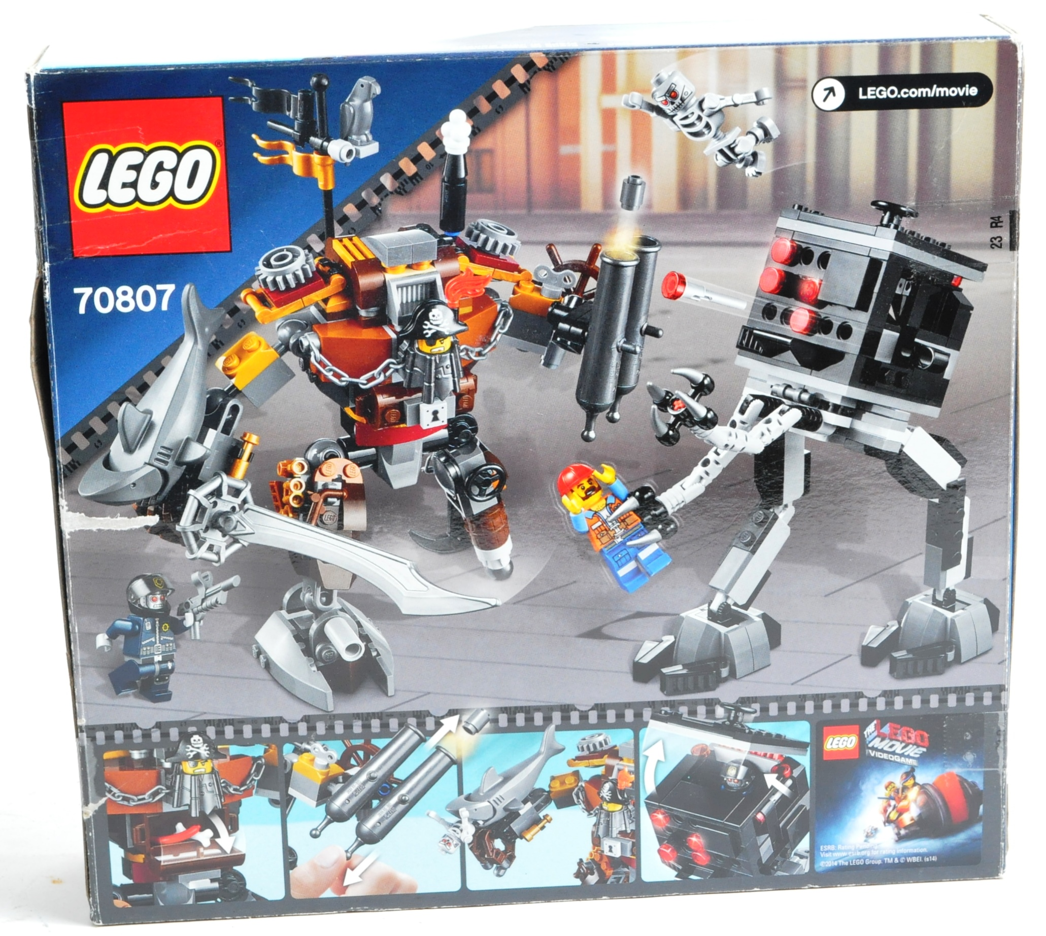 LEGO SETS - THE LEGO MOVIE - COLLECTION OF X7 LEGO MOVIE SETS - Image 13 of 17