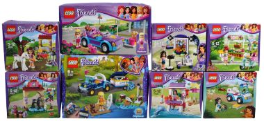 LEGO SETS - LEGO FRIENDS - COLLECTION OF X8 LEGO FRIENDS SETS