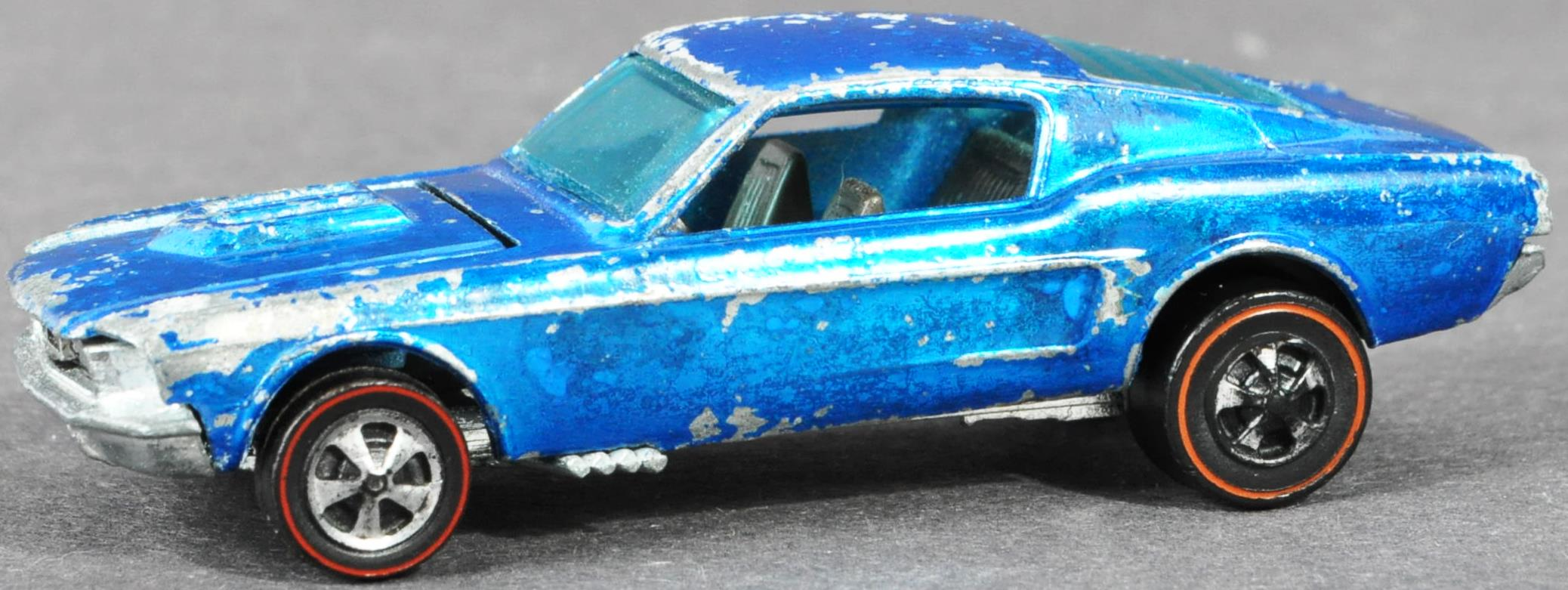 RARE HOT WHEELS CUSTOM MUSTANG WITH LOUVERED WINDOW