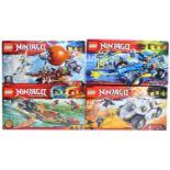 LEGO SETS - NINJAGO MASTERS OF SPINJITZU