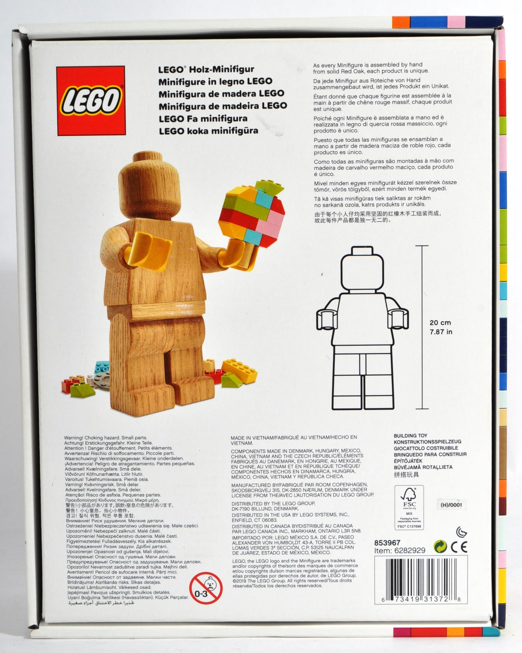 LEGO ORIGINALS - 853967 - WOODEN MINIFIGURE - Image 4 of 5