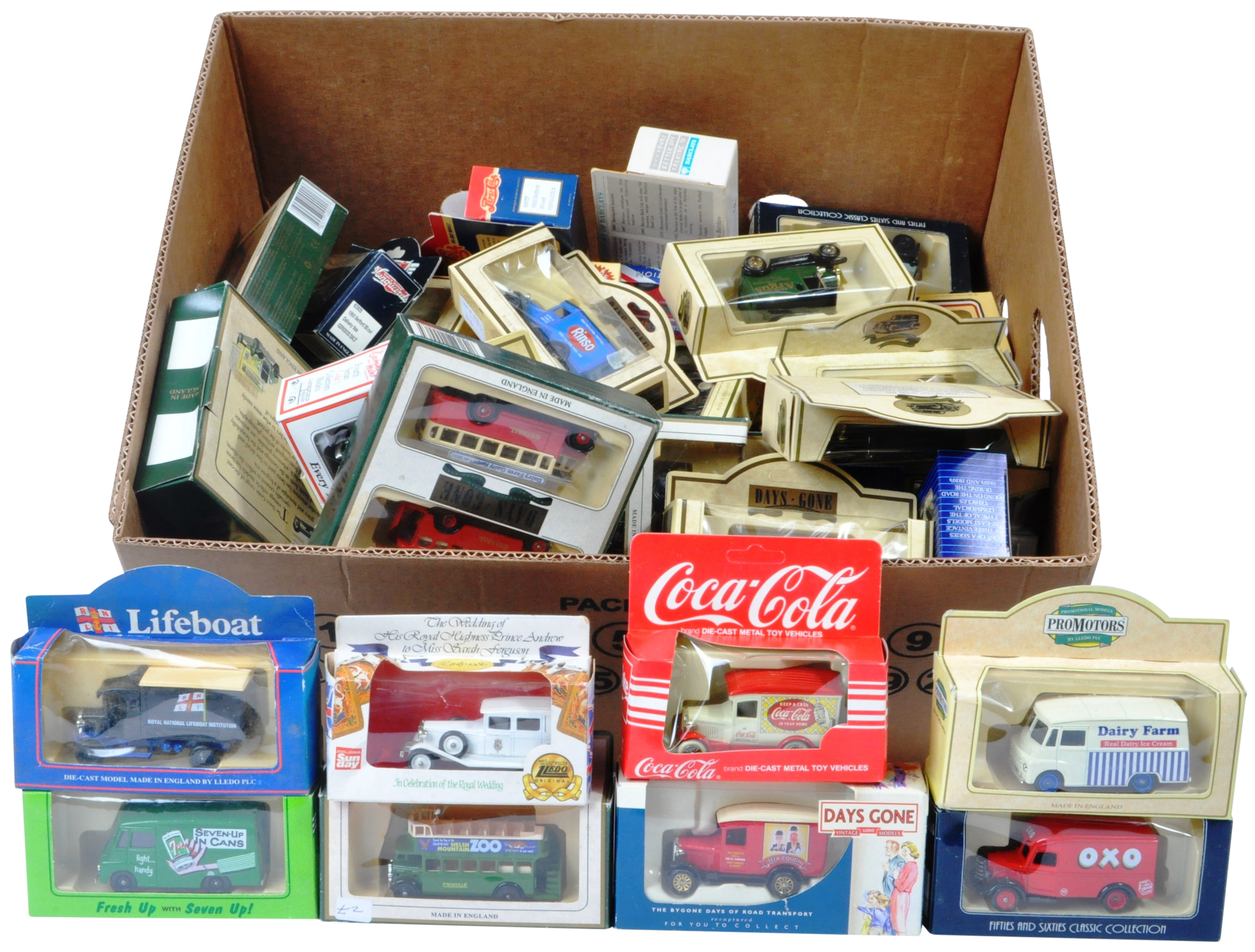 COLLECTION OF ASSORTED LLEDO DIECAST MODELS OF DAYS GONE