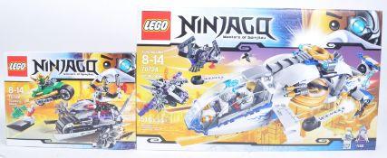 LEGO SETS - NINJAGO MASTERS OF SPINJITZU - 70722 / 70724