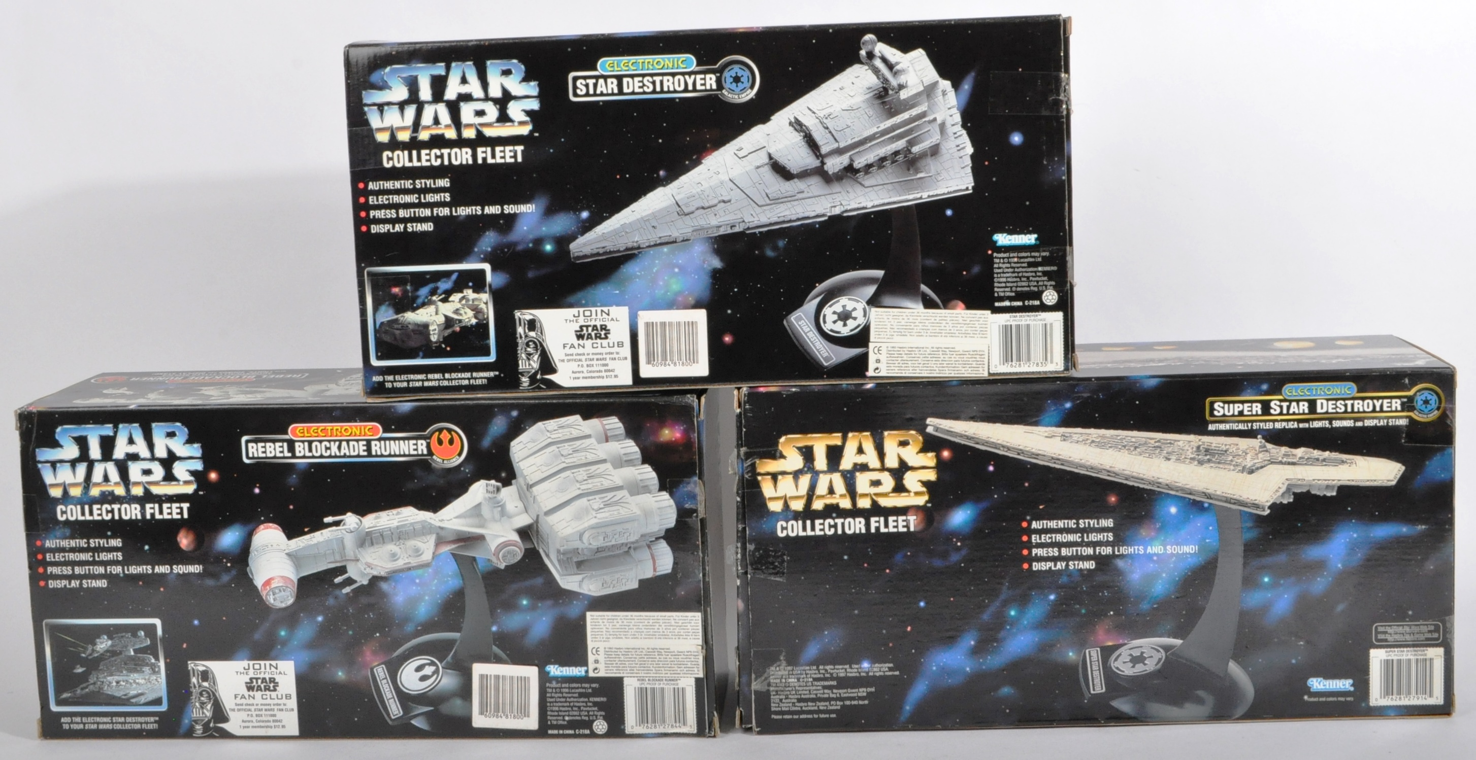 STAR WARS - COLLECTION OF KENNER ' COLLECTOR FLEET ' PLAYSETS - Image 3 of 5