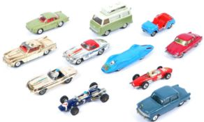 COLLECTION OF VINTAGE CORGI TOYS DIECAST MODEL CARS