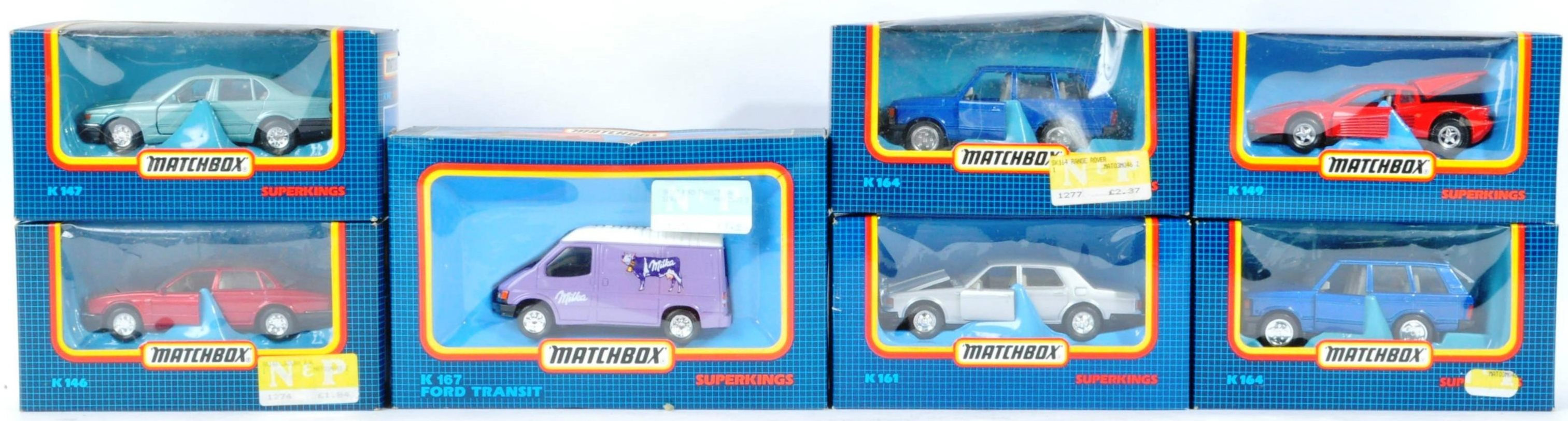 COLLECTION OF VINTAGE MATCHBOX SUPERKINGS DIECAST MODELS