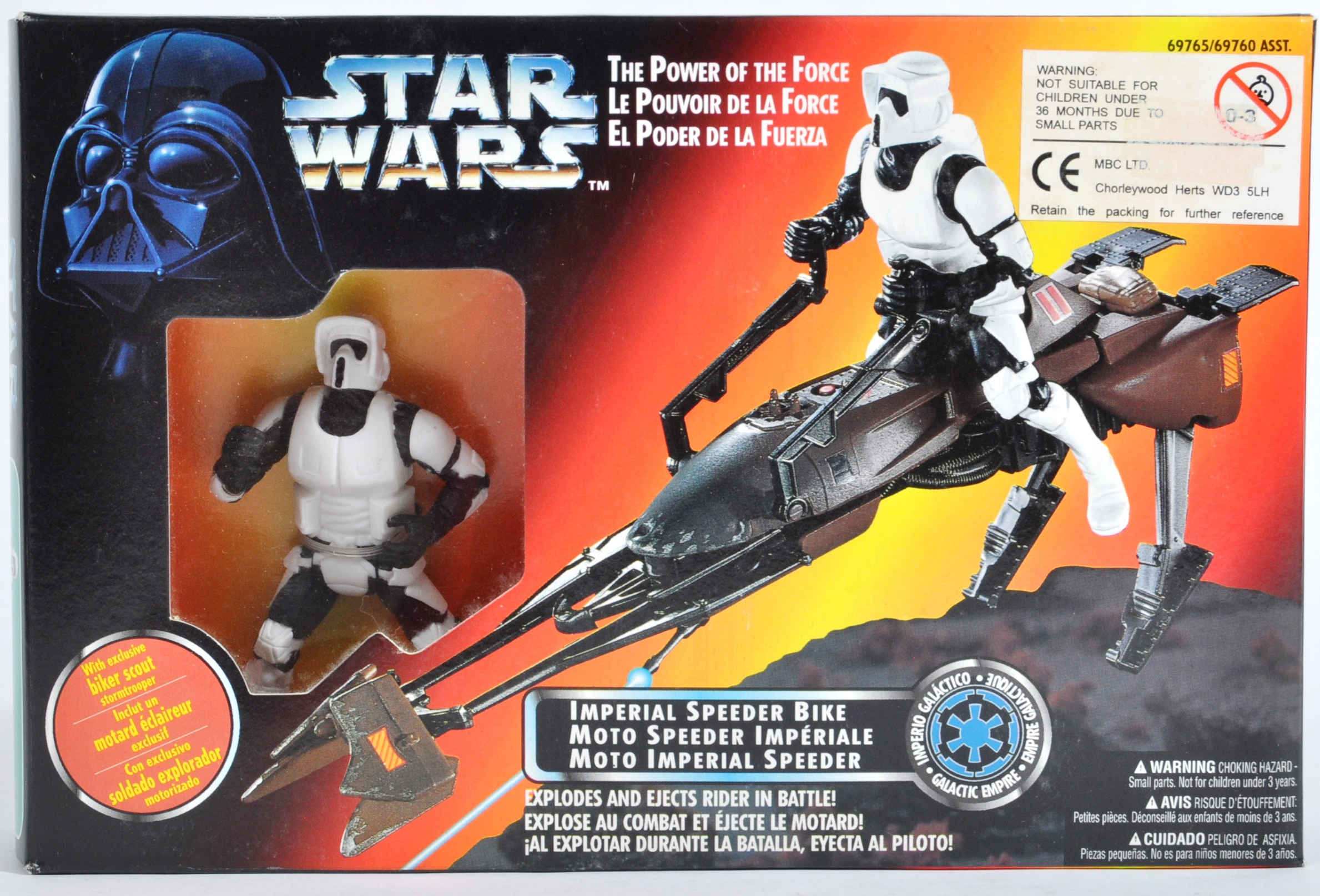 STAR WARS - COLLECTION OF KENNER POWER OF THE FORCES - Image 10 of 13