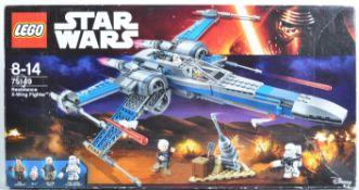 LEGO SET - LEGO STAR WARS - 75149 - RESISTANCE X-WING FIGHTER